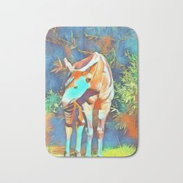Animal ArtStudio 419 Okapi Bath Mat