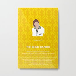 The Blind Banker - Molly Hooper Metal Print