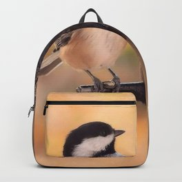 Chickadee dee dee Backpack