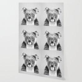 Koala - Black & White Wallpaper