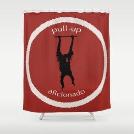 Pull-Up Aficionado Shower Curtain