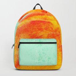A Peach Backpack