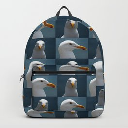 Seagull Faces Backpack
