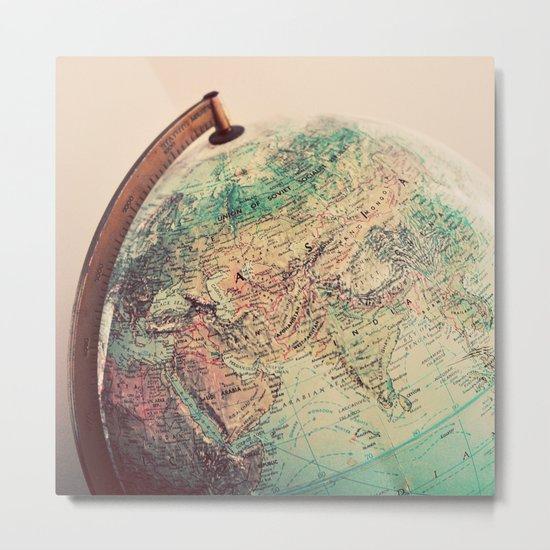 Global Metal Print