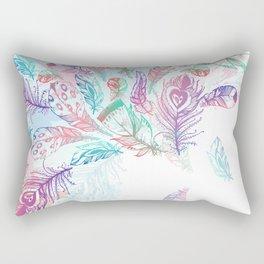 Bohemian Rain Rectangular Pillow