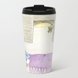 Sleeping Girl Travel Mug