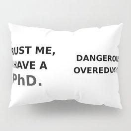 Trust me, I have a PhD. Pillow Sham