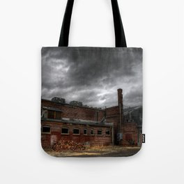 Behind the Old Theatre Tote Bag