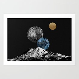 Space II Art Print