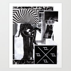 FUTURE 11  Art Print