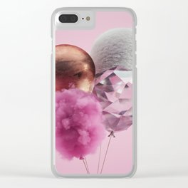 Baloons #4 Clear iPhone Case