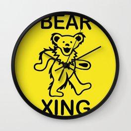 Bear Xing Wall Clock