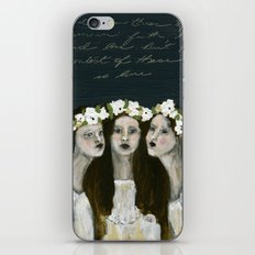 The Greatest of These is Love iPhone Skin