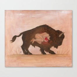 Heart of the Buffalo Canvas Print