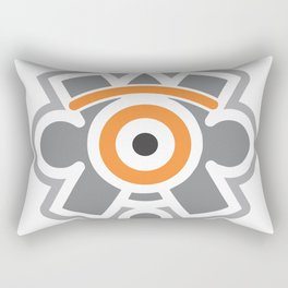 eye of the sun Rectangular Pillow