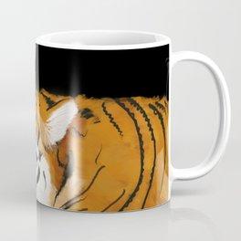 Tiger cub and mom (cheek-bump) Coffee Mug