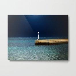 Light in the Sea Metal Print