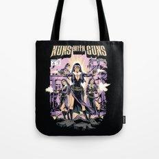 Nuns With Guns Tote Bag
