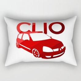 Renault Clio - classic red - Rectangular Pillow