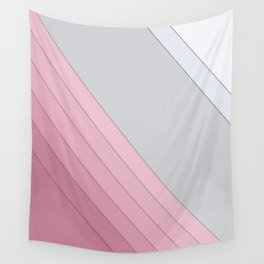 Gray , white , mixed Wall Tapestry