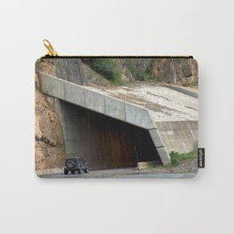 Tunnel above Red Mountain Creek Carry-All Pouch