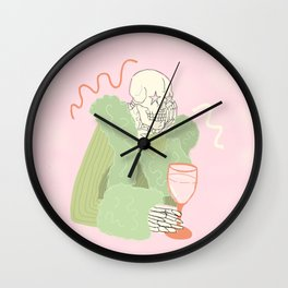I Wouldn't Be Caught Dead Wearing That Wall Clock
