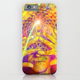 Mystic Third Eye Ram Dass iPhone Case