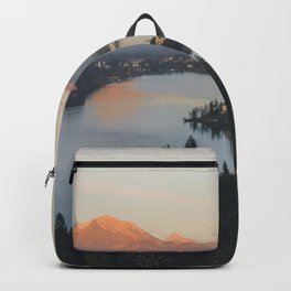 Lake Bled, Slovenia II Backpack