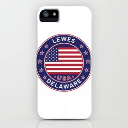Lewes, Delaware iPhone Case
