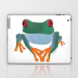 Tree Frog, Collage Laptop & iPad Skin