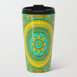 Hippie mandala 89 Travel Mug