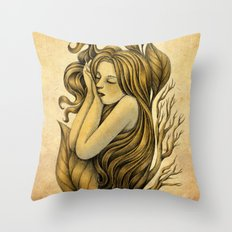 Little Rhizome Throw Pillow