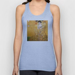 Gustav Klimt - The Woman in Gold Unisex Tank Top