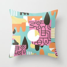 Amanaemonesia Throw Pillow