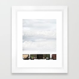 Train 1 Framed Art Print