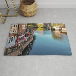 River Wensum in the city of Norwich, Norfolk Rug