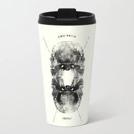 Two-Faced People Travel Mug