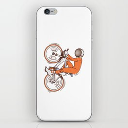 All I wanna do is bicycle iPhone Skin