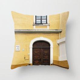 Special Edition Yellow/Orange Baja Facade Throw Pillow