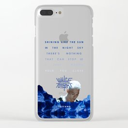 White Night - Intro Clear iPhone Case