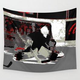 Goal Stopper - Ice Hockey Goalie Wall Tapestry