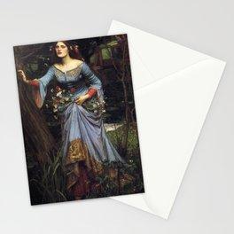 John William Waterhouse Ophelia 1894 Stationery Cards