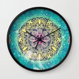 Gypsy Web Wall Clock