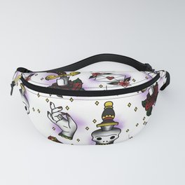 Sparkles, Skulls, and Knives Fanny Pack