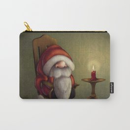 New edit: Little Santa in his rocking chair Carry-All Pouch