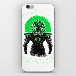 New Broly Dragon Ball Super film iPhone Skin