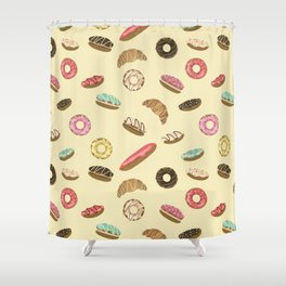 Pastry Shower Curtain