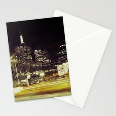 Melbourne Taxi Blur Stationery Cards