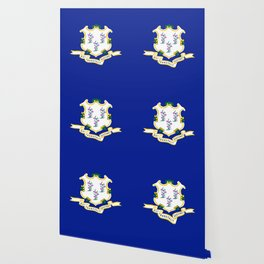 Musical State Flag of Connecticut Wallpaper