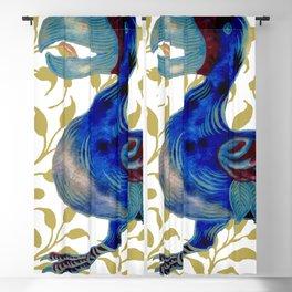 "William De Morgan ""Dodo bird"" 3. Blackout Curtain"